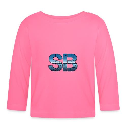 SB Logo - Langærmet babyshirt