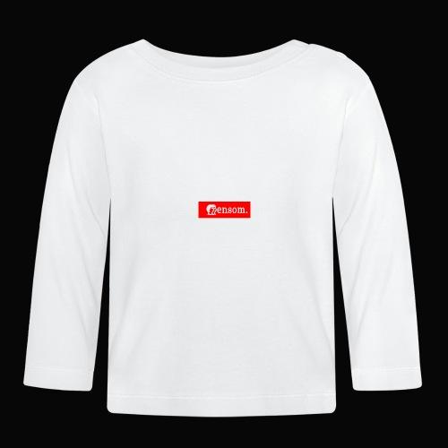 Ensom - Langarmet baby-T-skjorte