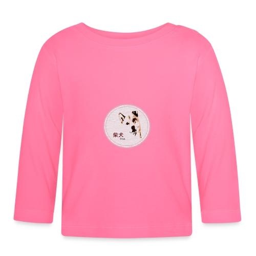 Shiba gris - T-shirt manches longues Bébé