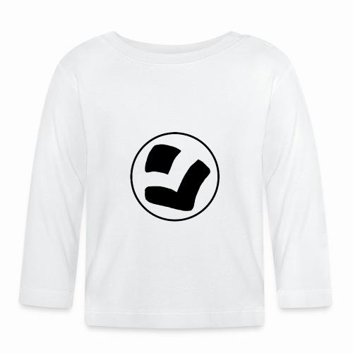 LaidPark Black Logo - Vauvan pitkähihainen paita