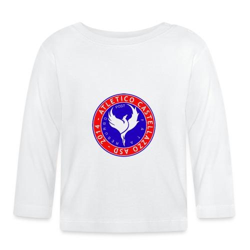 Atletico Castellazzo Logo Ufficiale - Maglietta a manica lunga per bambini