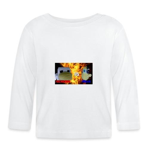 TGCHICKEN VS POLLO - Maglietta a manica lunga per bambini