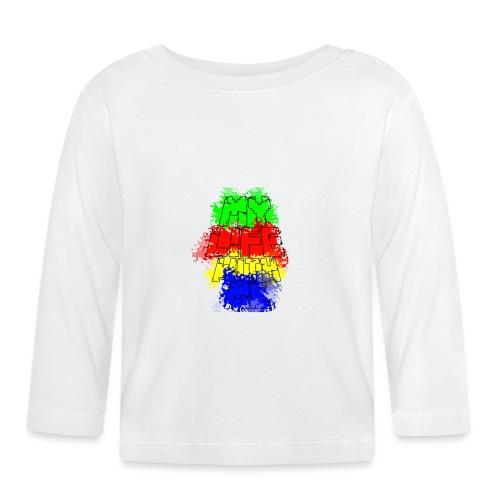 Den Officielle My Life With Minecraft Logo - Langærmet babyshirt