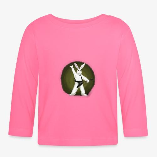 Metal Bunny - Langarmet baby-T-skjorte