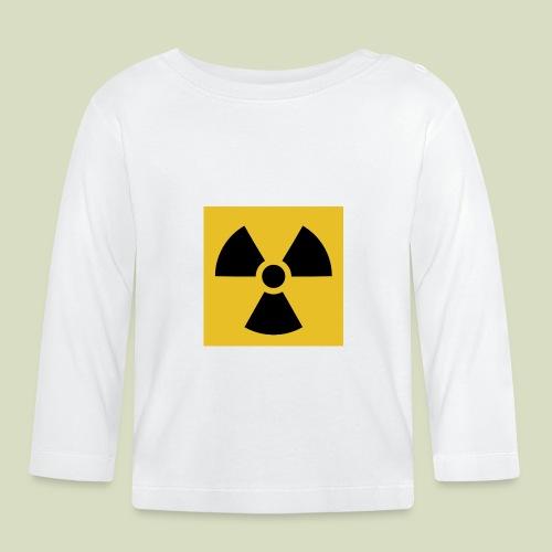 Radiation warning - Vauvan pitkähihainen paita