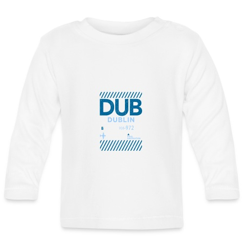 Dublin Ireland Travel - Baby Long Sleeve T-Shirt