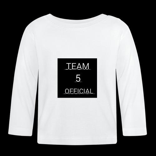 Team5 official 1st merchendise - Baby Long Sleeve T-Shirt