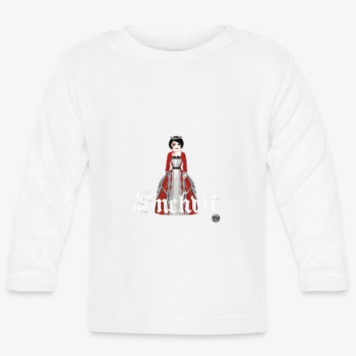 Snehvit - Langarmet baby-T-skjorte