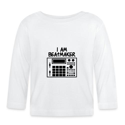 i am beatmaker - T-shirt manches longues Bébé