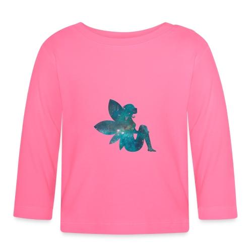 Blue fairy - Langarmet baby-T-skjorte