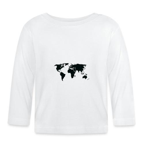 World - Langærmet babyshirt