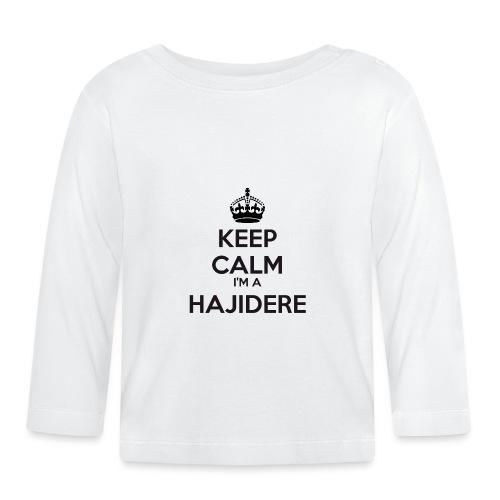 Hajidere keep calm - Baby Long Sleeve T-Shirt