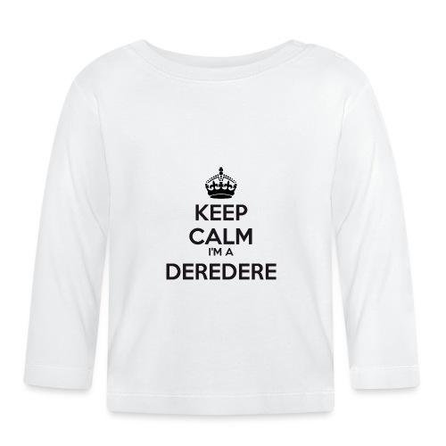 Deredere keep calm - Baby Long Sleeve T-Shirt