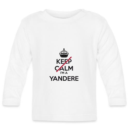 Yandere don't keep calm - Baby Long Sleeve T-Shirt