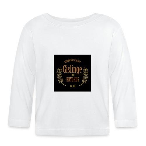 Sort logo 2017 - Langærmet babyshirt