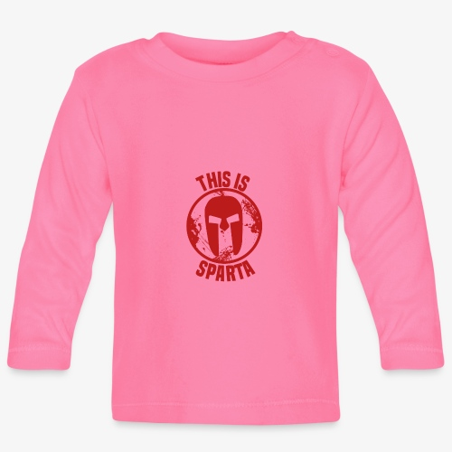 this is sparta - Baby Long Sleeve T-Shirt
