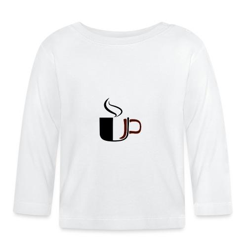 JU Kahvikuppi logo - Vauvan pitkähihainen paita