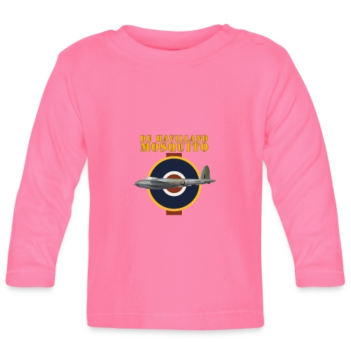 de Havilland Mosquito - Baby Long Sleeve T-Shirt