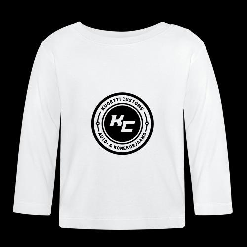 kc_tunnus_2vari - Vauvan pitkähihainen paita