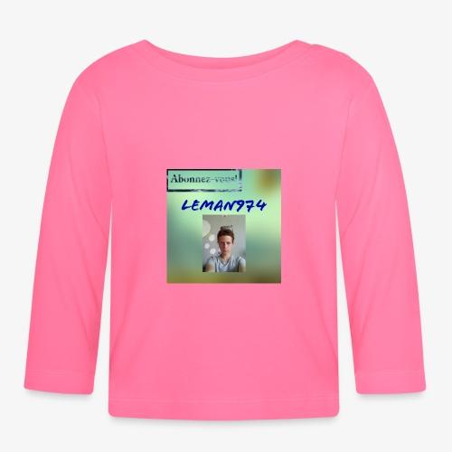 Leman974 logo - T-shirt manches longues Bébé