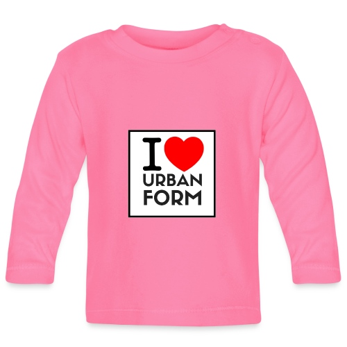 I LOVE URBAN FORM - T-shirt manches longues Bébé