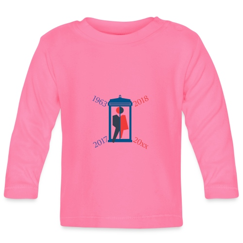 Mr or Ms Who - Baby Long Sleeve T-Shirt