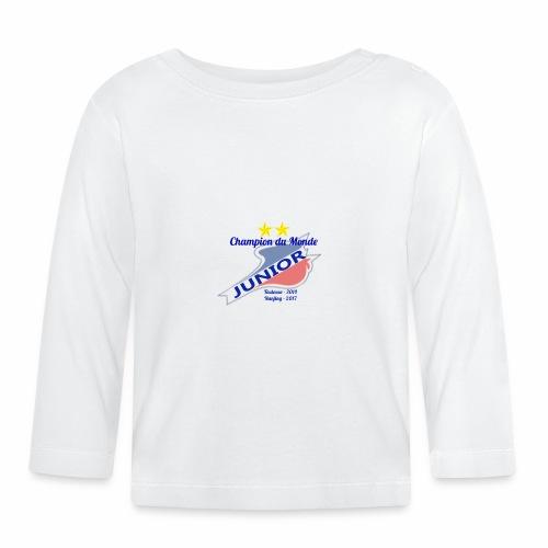Champion du monde Junior - T-shirt manches longues Bébé
