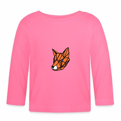 renard geometrique - T-shirt manches longues Bébé