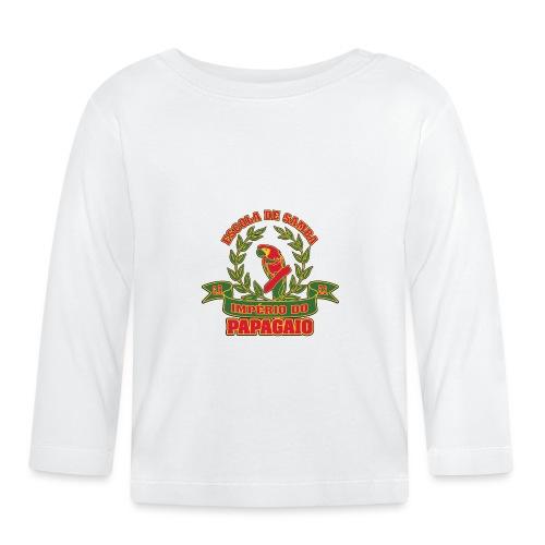 Papagaio logo - Vauvan pitkähihainen paita