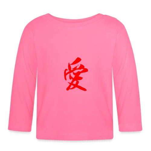 chine - T-shirt manches longues Bébé