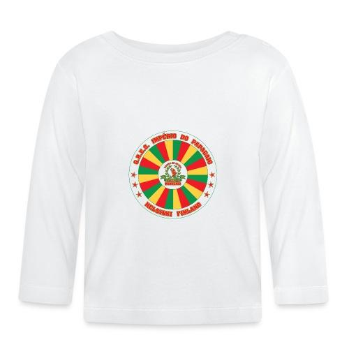 Papagaio drum logo - Vauvan pitkähihainen paita