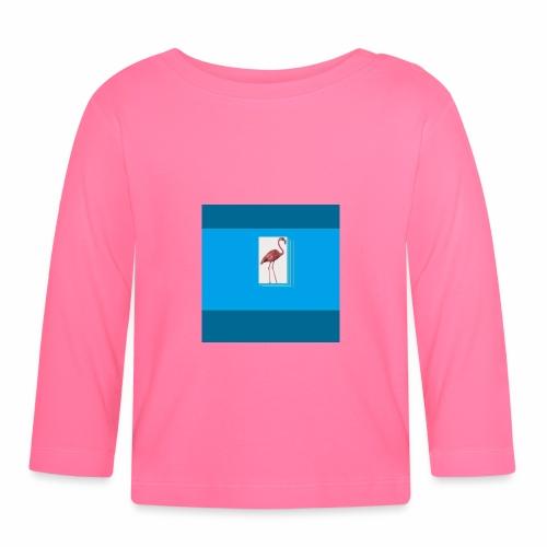 Flamingoscotteri - Maglietta a manica lunga per bambini