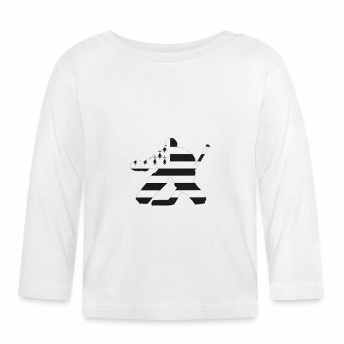 goalie et breton - T-shirt manches longues Bébé