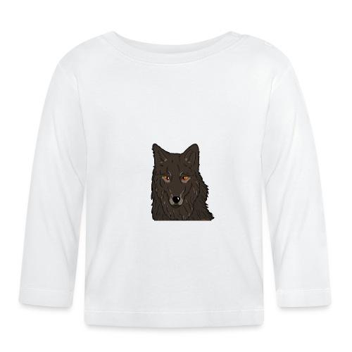 HikingMantis Wolf png - Langærmet babyshirt