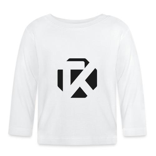 Logo TK Noir - T-shirt manches longues Bébé