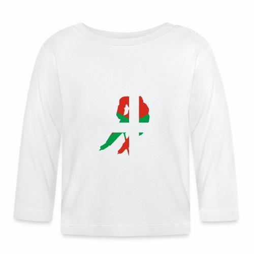 hockeyeur et basque - T-shirt manches longues Bébé