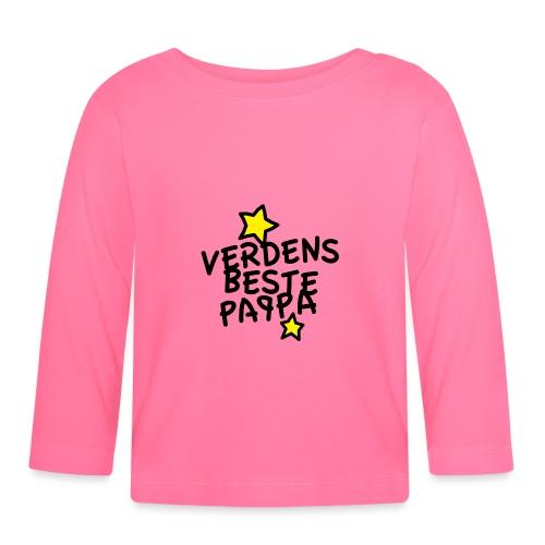 Verdens beste pappa - Langarmet baby-T-skjorte
