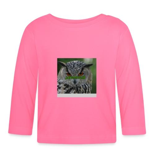 JohannesB lue - Langarmet baby-T-skjorte