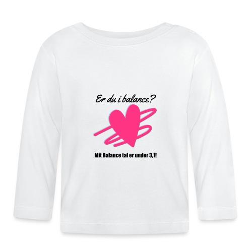 I Balance Design - Langærmet babyshirt
