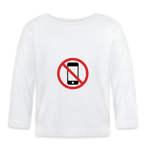 No Phone - T-shirt manches longues Bébé