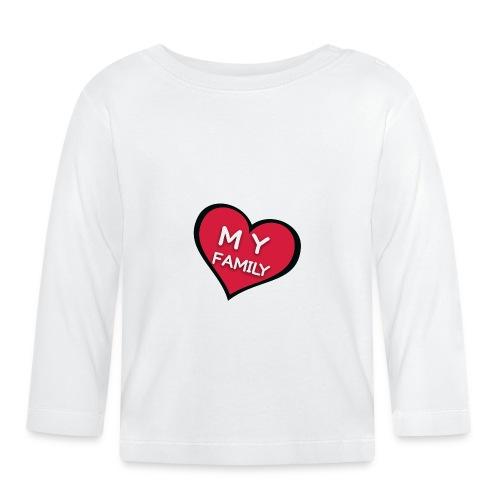My Family - T-shirt manches longues Bébé
