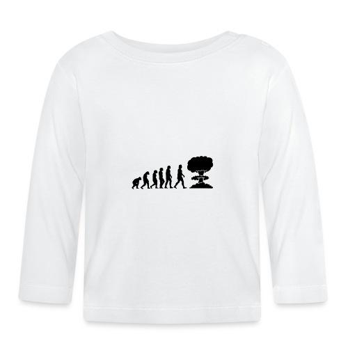 Evolution Nucléaire ou comment l humanité finira - T-shirt manches longues Bébé