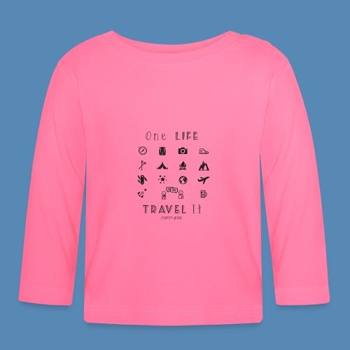 One Life, Travel It - T-shirt manches longues Bébé
