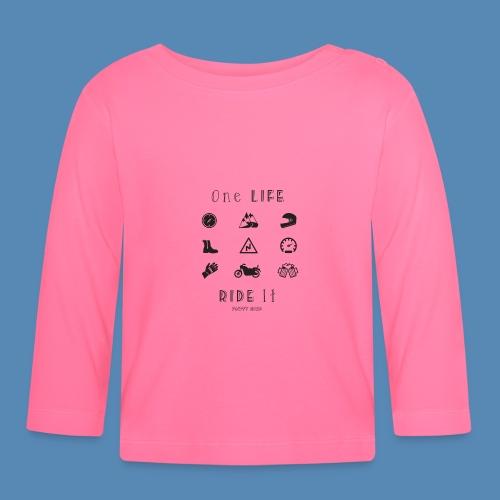 One life, Ride it - T-shirt manches longues Bébé