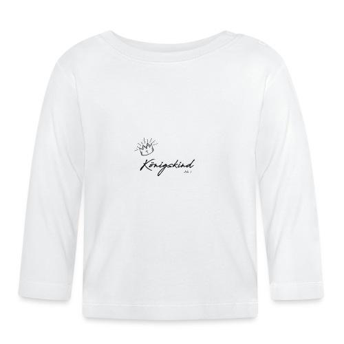 Königsking Kind Gottes Gläubige Christen Tshirt - Baby Langarmshirt