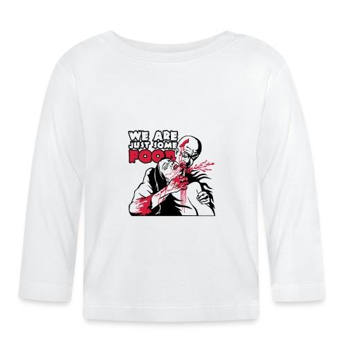 eating_zombie - T-shirt manches longues Bébé