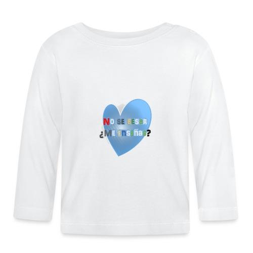 besos - Camiseta manga larga bebé