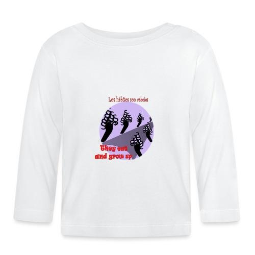 hábitos - Camiseta manga larga bebé