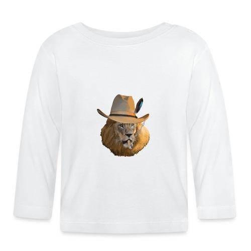Löwe auf Safari - Baby Langarmshirt