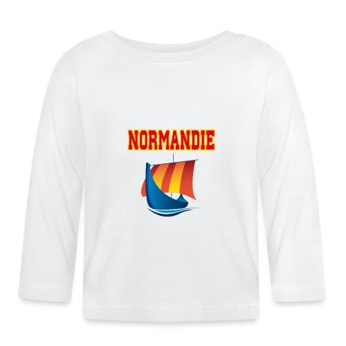Normandie Drakar - T-shirt manches longues Bébé